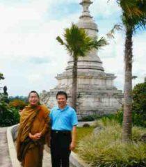 Beruntung Mengikuti Meditasi di Vihara Bodhigiri, 2011