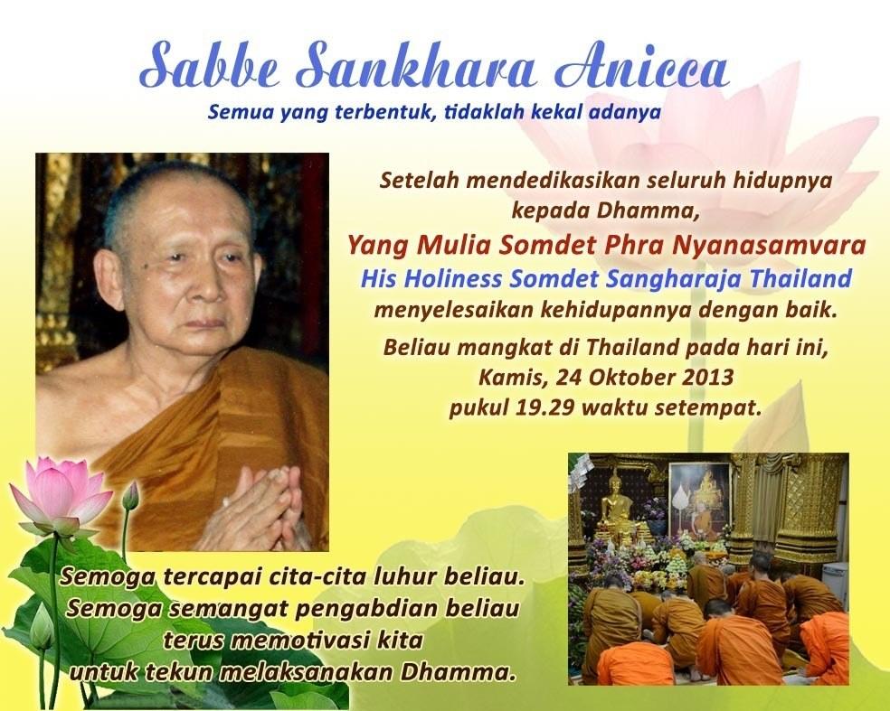 Sangharaja Thailand Mangkat -24 Okt 2013