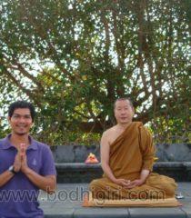 Poin Lebih Bermeditasi di Vihara Bodhigiri, 2014
